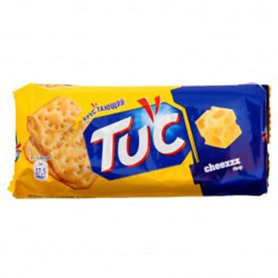 "Крекер ""Tuc"" с сыром 100г фото"