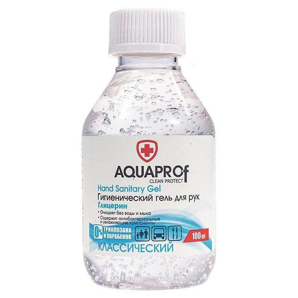 Гель для рук антисептический Aquaprof Классический 100 мл