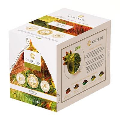 Чай Cuplid зеленый Сенча 25 пак