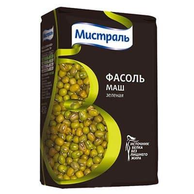 Фасоль Мистраль зеленая Маш 450 гр