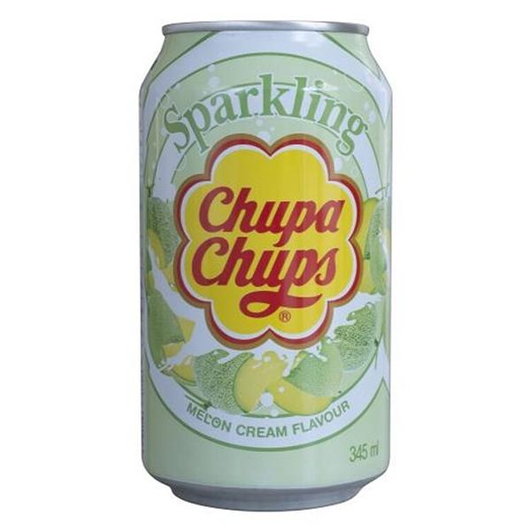 Chupa Chups / Чупа Чупс Melon cream импорт 0.345 литра, ж/б, 24 шт. в уп.
