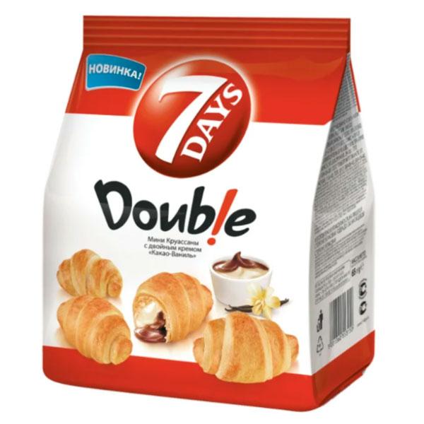 Круассан 7Days Мини c двойным кремом Какао-ваниль 300 гр