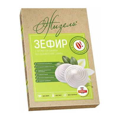 Зефир Жизель без сахара с ароматом ванили 160 гр фото
