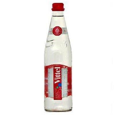 Вода Vittel / Виттель 0.5 литра, без газа, стекло, 12шт. в уп.