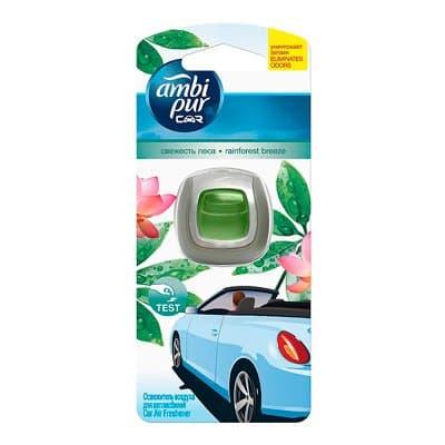 Ароматизатор Ambi Pur для автомобилей Свежесть леса