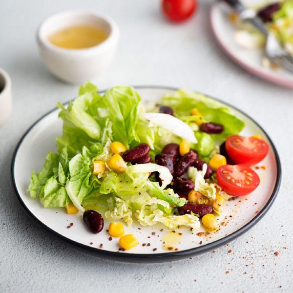 Салат BeFit из пекинской капусты, фасоли и кукурузы 150 гр