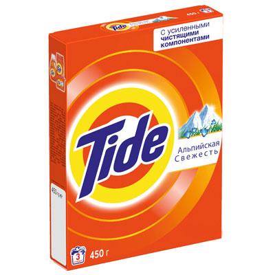 Стиральный порошок Tide для белого Альпийская свежесть автомат 450 гр фото