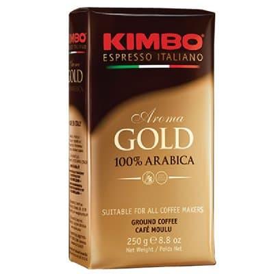 Kimbo Aroma Gold Arabica молотый в/у 250гр