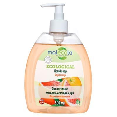 Жидкое мыло для рук Molecola Апельсин экологичное 500 мл фото