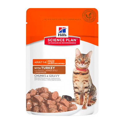 Консервы для кошек Hills индейка 85 гр (12 шт) фото