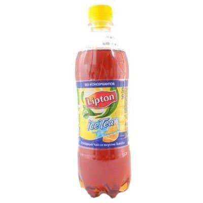 Lipton Ice Tea / Липтон Лимон горячего розлива 0,6л пэт (12шт)