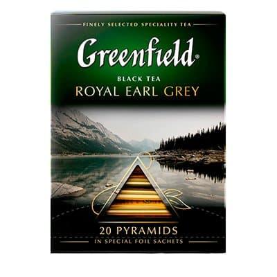 Greenfield / Гринфилд Royal Earl Grey 20 пир фото