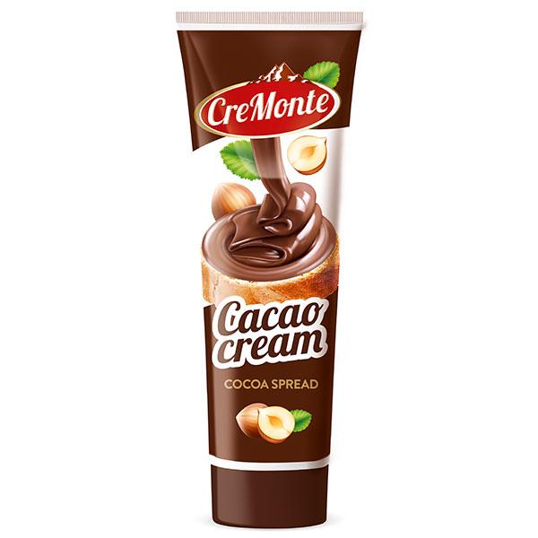Паста ореховая с добавлением какао CreMonte 350 гр