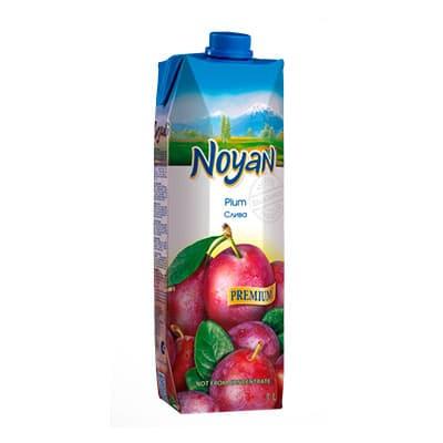 Нектар Noyan сливовый Premium 1 литр, 12 шт. в уп.