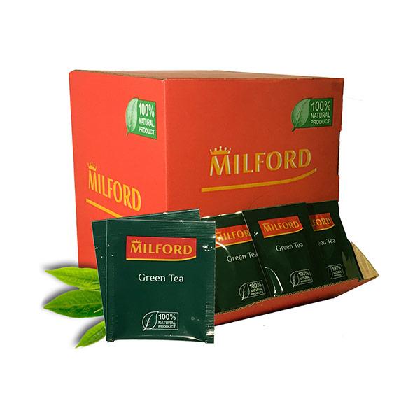 Чай зеленый Milford Green tea 200 пак фото