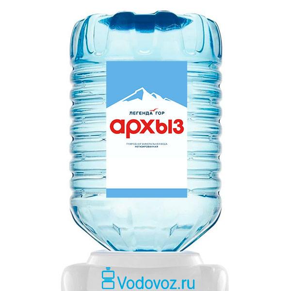 Вода Легенда Гор Архыз 19 литров в одноразовой таре