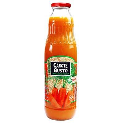 Нектар Carote Gusto морковный 0,75л (8 шт.)