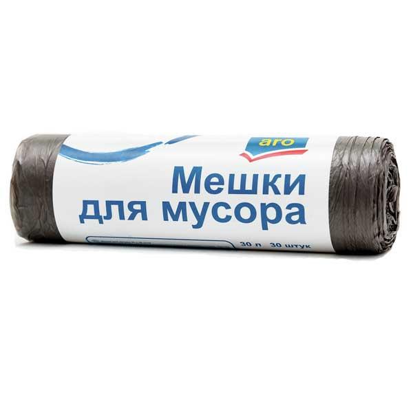 Мешки для мусора Aro 30 л (30 шт)