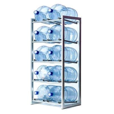 Стеллаж сборно-разборный СМ для 10 бутылей 19 л фото