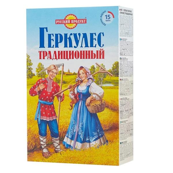Хлопья овсяные Русский продукт Геркулес традиционный 420 гр