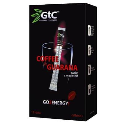 Кофе в стиках GTC с гуараной 2гр (15стик) фото