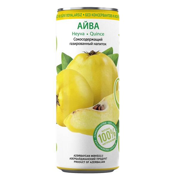 Лимонад Шахдаг Айва 0.33 литра, ж/б, 24 шт. в уп.