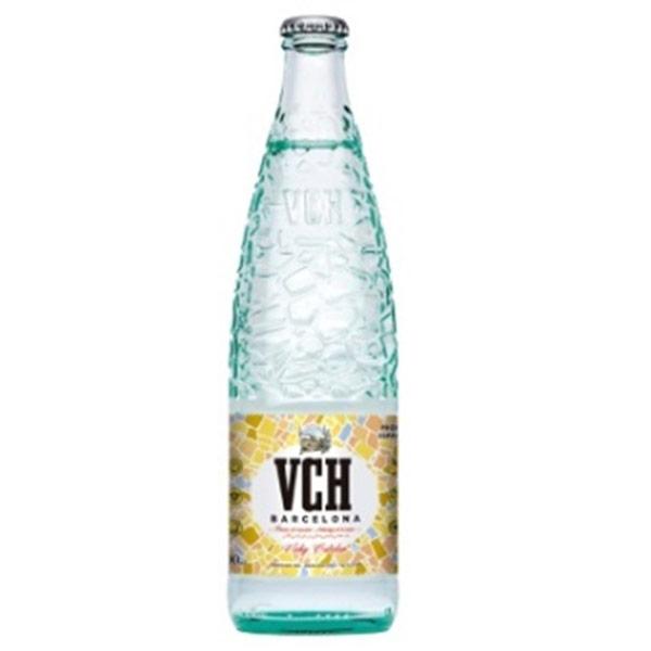 Вода VCH Barcelona минеральная 0.5 литра, газ, стекло, 20 шт. в уп.