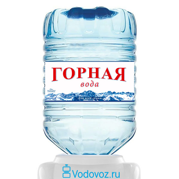 Горная Вода Теберэль 19 литров в одноразовой таре