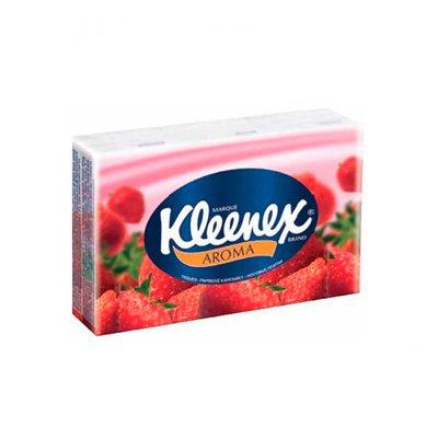Носовые платочки Kleenex Клубника (100шт.)
