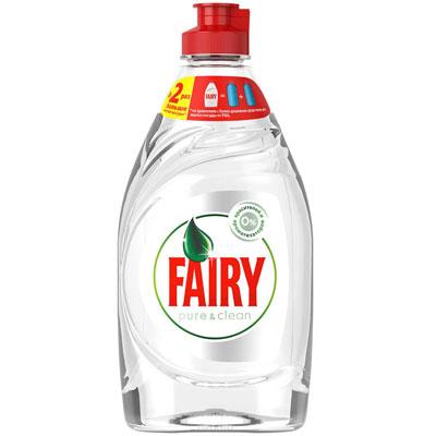 Средство для мытья посуды Fairy Pure & Clean 450 мл фото