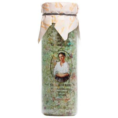 Соль для ванн Рецепты Бабушки Агафьи Успокаивающая 800 гр фото