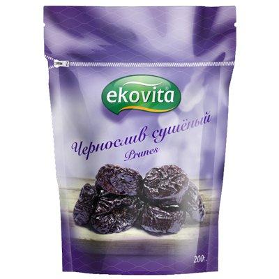 Чернослив сушеный Ekovita (без косточки) 200гр