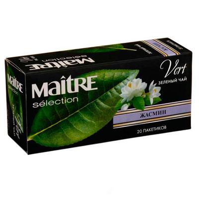 Чай Maitre Жасмин зеленый 20 пак