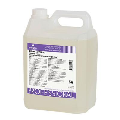 Жидкое мыло Prosept Diona Antibac антибактериальное 5 литров фото