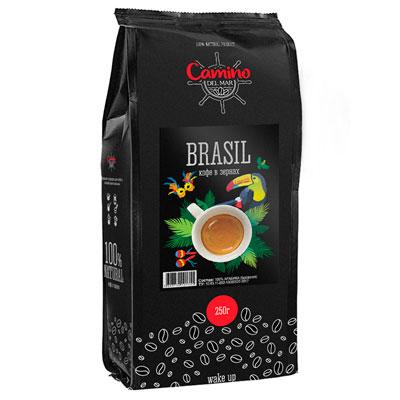 Кофе Camino del Mar Brasil зерно 250 гр