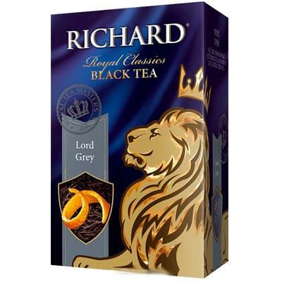 Чай Richard черный Лорд Грей 90 г фото