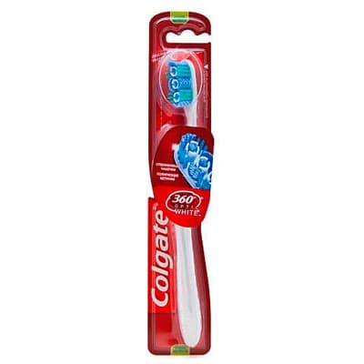 Зубная щетка Colgate Оptic white средняя жесткость фото