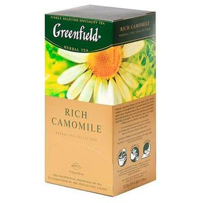 Greenfield / Гринфилд Rich Camomile (25пак) фото