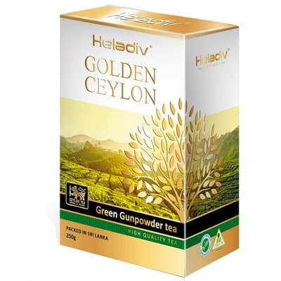 Heladiv golden ceylon green Gunpowder 250 ��