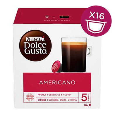 Кофе в капсулах Nescafe Dolce Gusto Americano 16 шт фото