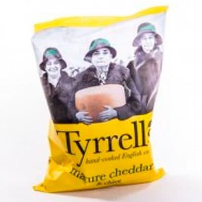 Чипсы Tyrrells с сыром чеддер 150гр