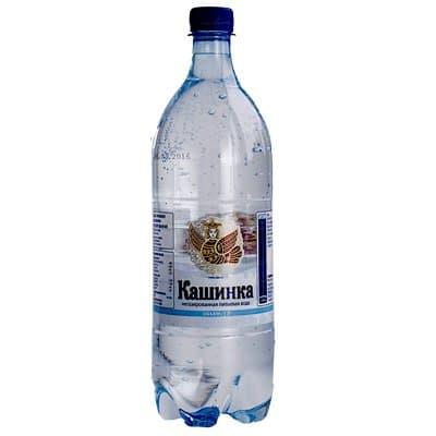 Вода Кашинка 1 литр, без газа, пэт, 6шт. в уп.