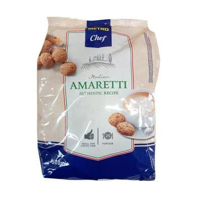 Печенье Metro Chef Амаретти 500 гр фото