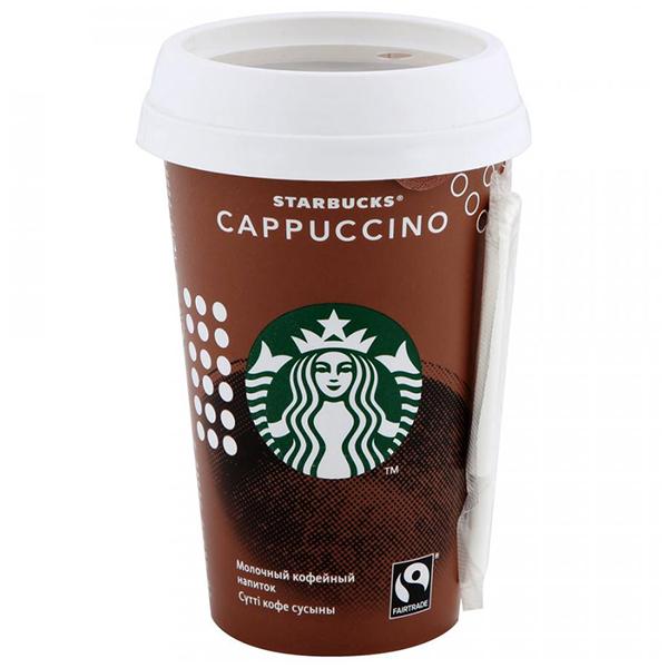 Кофейный напиток Starbucks Cappuccino БЗМЖ 220 гр