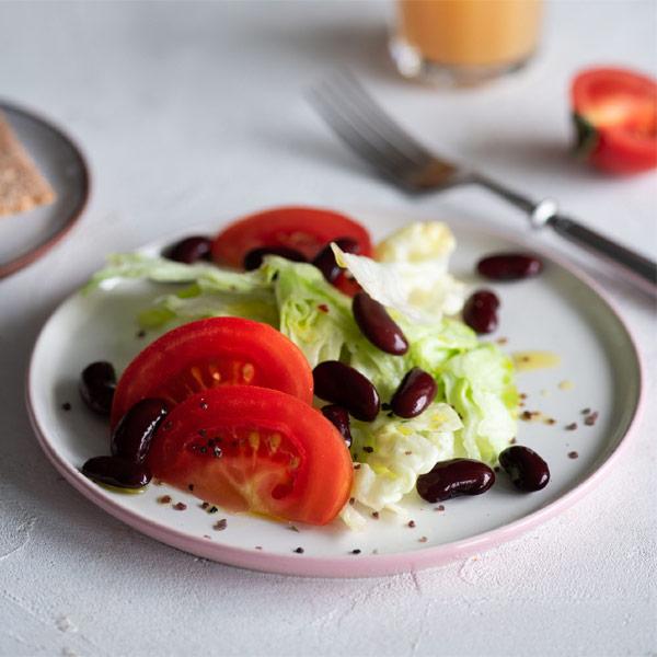 Салат BeFit овощной с красной фасолью 150 гр
