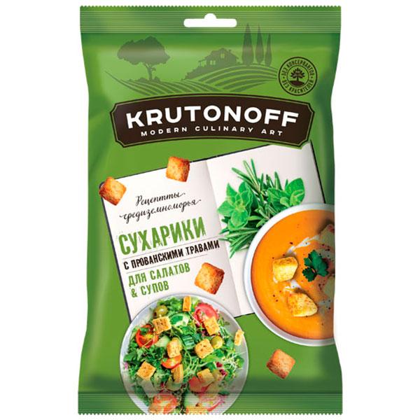Сухарики для супов и салатов с прованскими травами Krutonoff 100 гр