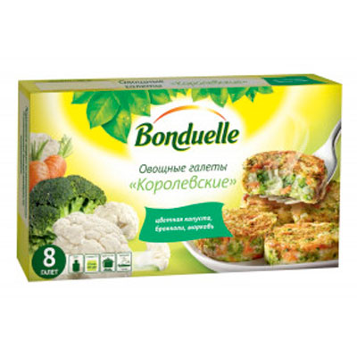 Галеты овощные Bonduelle Королевские 300 гр
