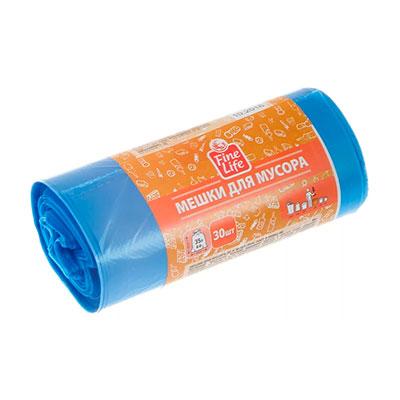 Мешки для мусора Fine Life 35 л (30 шт)