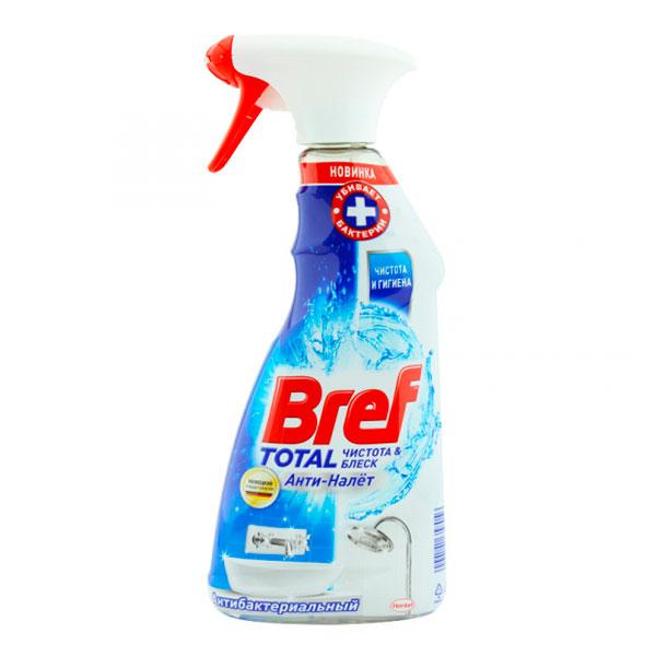 Чистящее средство Bref Total Чистота & Блеск анти-налет антибактериальный 500 мл фото