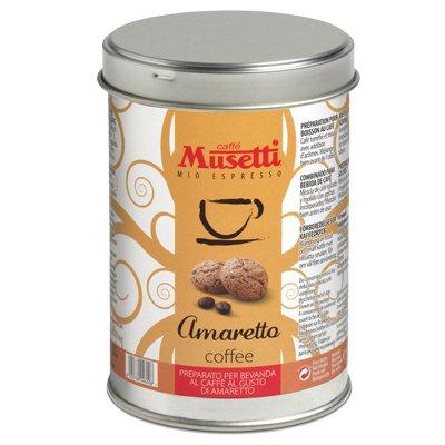 Кофе Musetti ароматизированный Амаретто ж/б (125гр)